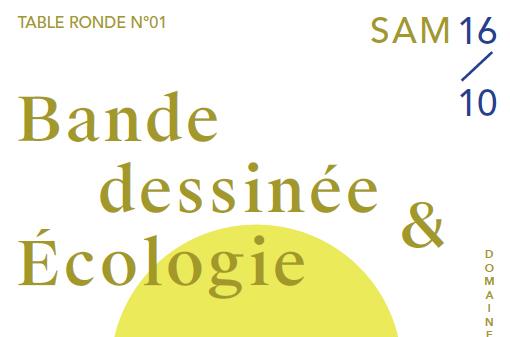 Table ronde, Bande dessinée & Écologie