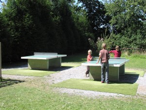Le parc du Domaine de Keravel - Ping-pong