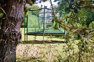 Le parc du Domaine de Keravel - trampoline