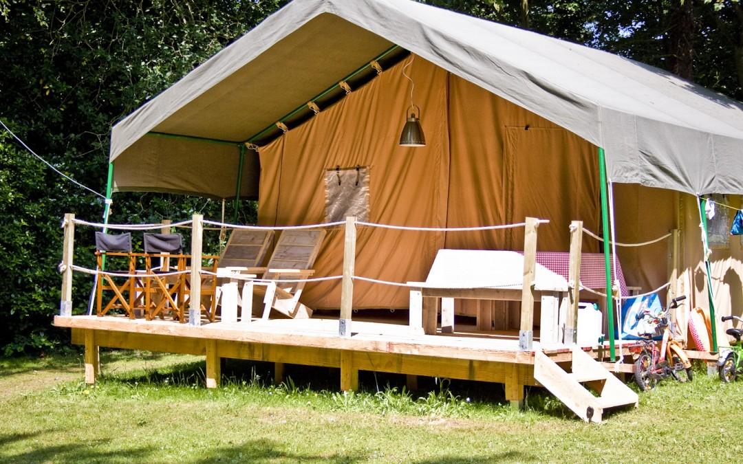 Tentes Safari, pour 2 à 5 personnes