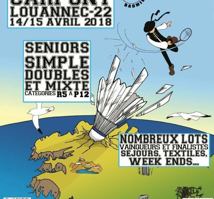 Logements pour le Tournoi de Badminton du Carpont